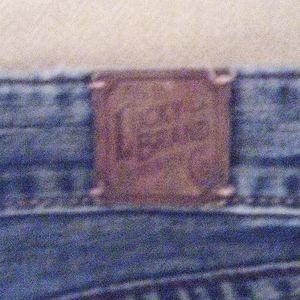 Girls low waist flared leg jeans